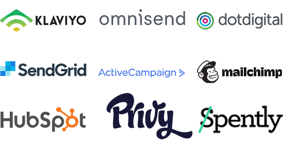 List of LimeSpot's email partners